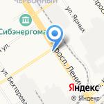 Алтай Мед Сервис на карте Барнаула