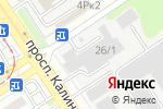 Схема проезда до компании Калинка в Барнауле