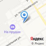 Детский сад №67 на карте Барнаула