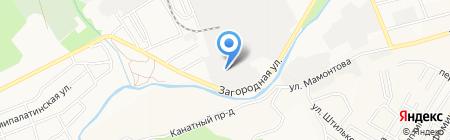 Крыша на карте Барнаула