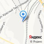Барнаульский контрольно-ветеринарный пункт на карте Барнаула