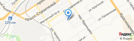 Омега-сервис на карте Барнаула
