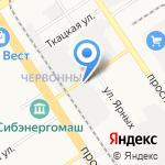 Техно-Град на карте Барнаула