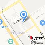 Барнаулгорсвет г. Барнаула на карте Барнаула