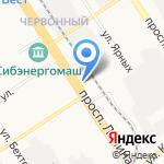 Alter Ego на карте Барнаула