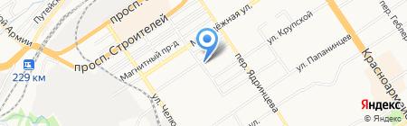 Авто-доктор на карте Барнаула