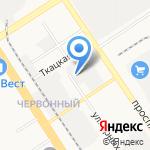 Экодез на карте Барнаула