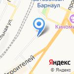 Алтайский региональный центр связи на карте Барнаула
