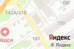 Схема проезда до компании Фабрика Отдыха в Барнауле