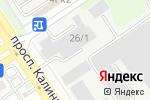 Схема проезда до компании Автостартер в Барнауле