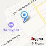 Детская городская поликлиника №3 на карте Барнаула