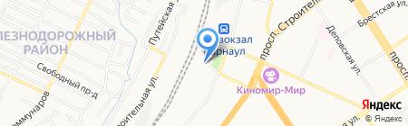 Память на карте Барнаула