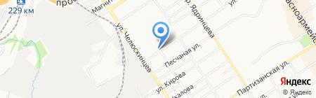 АльфаТрейд на карте Барнаула