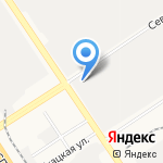 ЭлектрА на карте Барнаула