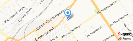 Москворечье Трейдинг на карте Барнаула
