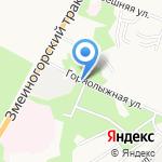 ГринВуд на карте Барнаула