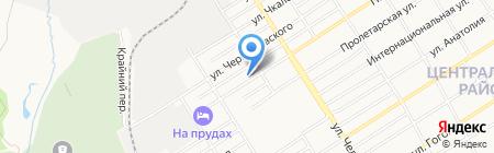 Line-Food на карте Барнаула