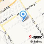 МК Поддержка. Техосмотр на карте Барнаула