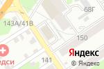 Схема проезда до компании Компания Аксель в Барнауле