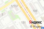 Схема проезда до компании АБСОЛЮТ-ГРУПП в Барнауле