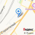 Синяя Борода на карте Барнаула