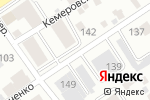 Схема проезда до компании Форт-плюс в Барнауле