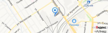 Опт-Сервис на карте Барнаула