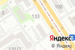 Схема проезда до компании Компьютерные системы в Барнауле