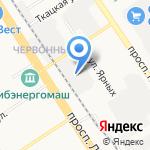 ГСК-205 на карте Барнаула