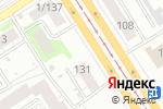 Схема проезда до компании Радуга в Барнауле