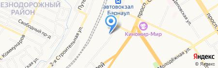 Б-2 на карте Барнаула
