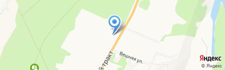 ТПСМ РОСКРОВЛЯ на карте Барнаула