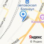 Дента на карте Барнаула