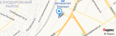 Арт Лайф на карте Барнаула