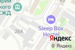 Схема проезда до компании ЛОГИСТИК-МИР в Барнауле