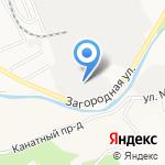Алтайский трикотаж на карте Барнаула
