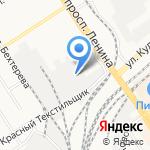 Шуры-Муры на карте Барнаула