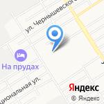 На Прудском на карте Барнаула