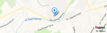 Квадро-Мебель на карте Барнаула
