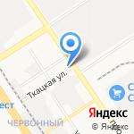 АвтоМода на карте Барнаула