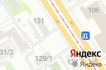Схема проезда до компании Прома в Барнауле