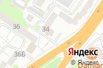 Схема проезда до компании Фонд капитального ремонта многоквартирных домов в Барнауле