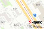 Схема проезда до компании Craft Comics Bar в Барнауле