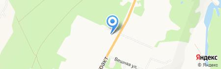 ИМКА на карте Барнаула