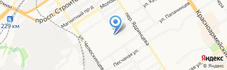 Транспортный цех на карте Барнаула