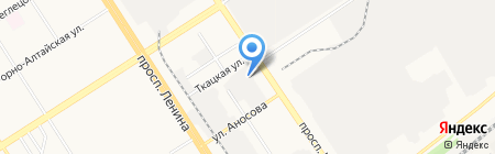 Центральный ОФИС ПРОДАЖ на карте Барнаула