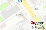 Схема проезда до компании Сибтехкомплект в Барнауле
