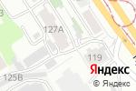 Схема проезда до компании Гигант-суши в Барнауле