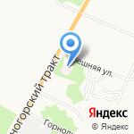 Восстановительный центр доктора Комиссарова на карте Барнаула