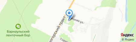 Алтайский краевой психоневрологический диспансер для детей на карте Барнаула